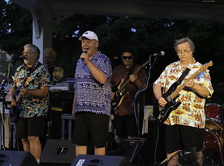 The Reminisants perform at 2019 Concerts on the Common
