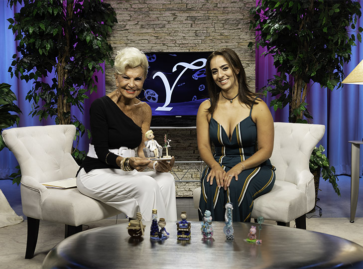 Yolanda and Patty Rocha after a taping of Yolanda Style & Glamour